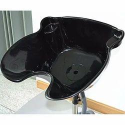 Black Plain Hair Washing Wash Basin