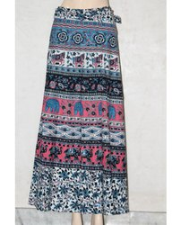 Jaipuri Wrap Around Skirt
