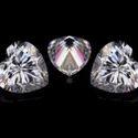 Heart Cut DEF Moissanite Diamond