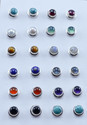 Rainbow Moonstone 925 Sterling Silver Stud Earring Jewelry