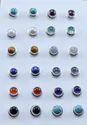 Rainbow Moonstone 925 Sterling Silver Stud Earring Jewelry