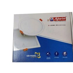 Ajwin Ceramic Round LED Panel Light, For Indoor