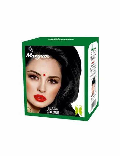 Maryam Black Hair Colour