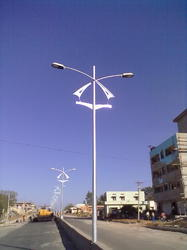 Octagonal & Conical Street Light Pole