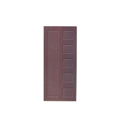 Leather Finish Flush Door