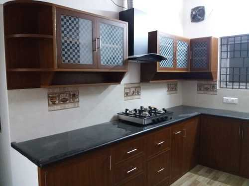 Modular Kitchen Pvc Classic Modular Kitchen Wholesale Trader From Chennai