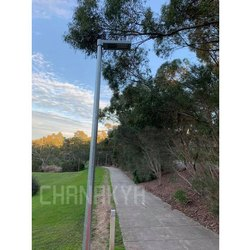 Chanakya Iron Octagonal Garden Light Pole, IP Rating: IP 65