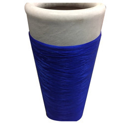 Blue Polyester Yarn, For Textile Industries And Yarns