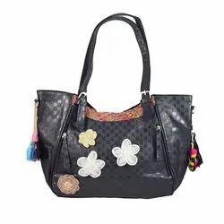 Black Leather Bag LB10001