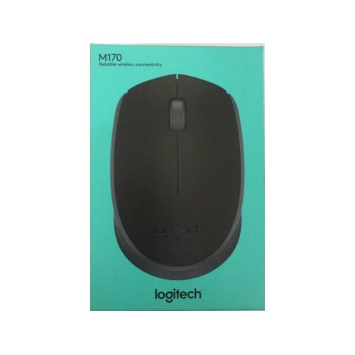 9bc847b7e23 Logitech Black M170 Wireless Mouse, Model Number: B170, Rs 300 ...