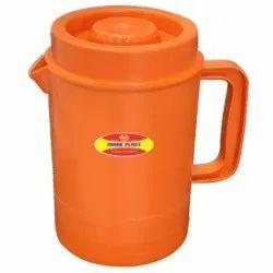 Round Plastic Water Jug 2 Litre