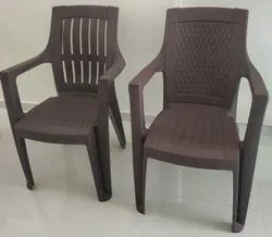 Atlantic Brown Plastic Chair for Indoor