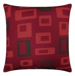 Red And Black Printed Cushion Covers