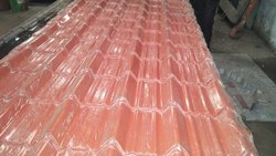 Clay Color Coated Mangalore Roofing Tile, Features: Water Proof, Durable Coating, Dimensions: 160 x 270 mm