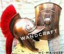 Wandcraft Exports Medieval Full Body Armour Suit Helmet Gauntlets GREEK Corinthian Athenian roman