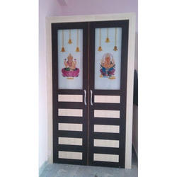 Interior Hinged PVC Glass Door