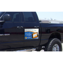 Vehicle Magnetic Signs For Promotional, Shape: Rectangular