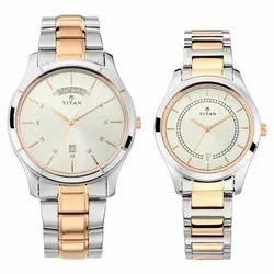 Analog Titan Bandhan Stainless Steel Watches