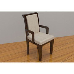 Off White Wooden Chair