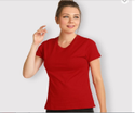Plain Red T-shirts For Grils