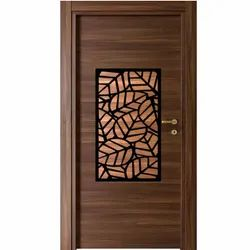 Wooden Laminated Door, Thickness: 30-50 mm, Size/Dimension: 7x3 Feet