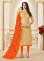 Banarasi Style Casual Wear Churidar Suit