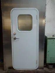 Marine Aluminum Cabin Hollow Door, For Ship
