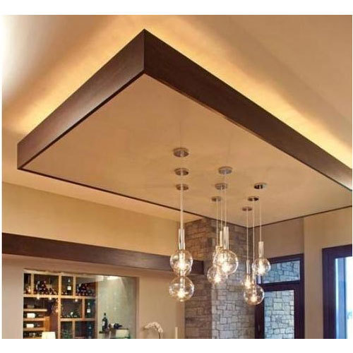 Pop Hall False Ceiling Rs 100 Square Feet Teknokrats Id