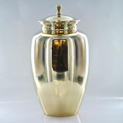 Brass Fine Polished Urn