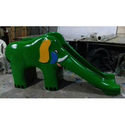 Elephant Shaped Playground Slide