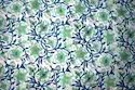 Hand Block Cotton Floral Printed Fabric, Gsm: 50-100