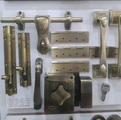 Copper Door Lock Kit