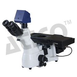 Atico White and Black Metallurgical and Industrial Inspection Microscope