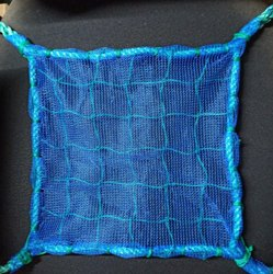 2.5 Mm Braided Machine Knotted Safety net, For Fall Protection