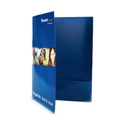 Paper Blue Presentation Folders, for Office, School & College