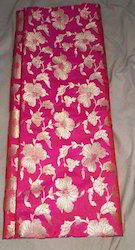 Pure Silk Katan Brocade Fabric