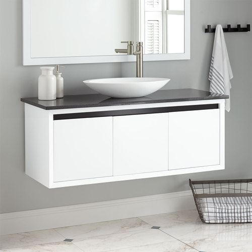 White Vanity Cabinets Rs 28000 Piece, White Bathroom Cabinets