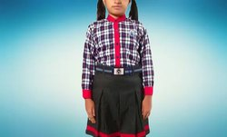 Girls School Uniform Dress