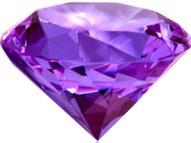 rocks gems products decor acrylic purple glass diamond wedding