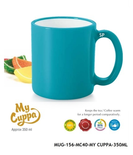 Plastics Coffee Mug-BPA Free-MUG-156