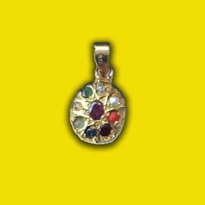 Nine Gems (Navratan) Pendant