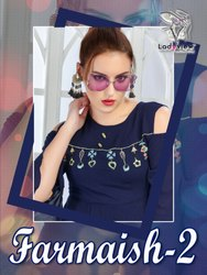 RAYON Tops & Tees Ladyview Present Farmaish Vol 2 Western Designer Ladies Tops