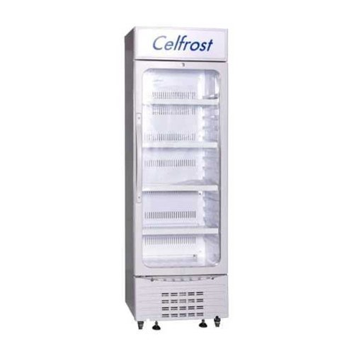 White Celfrost Visi Cooler (FKG-430), Capacity: 400 L, Number Of Doors: 1
