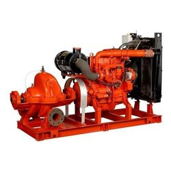 Fire Fighting Diesel Pump Set, Max Flow Rate: 1620 To 4500
