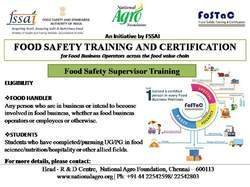 Food Safety Training And Certification (FoSTaC) - FSSAI