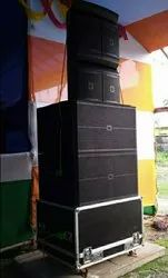 Single 12 Inch Line Array Cabinet