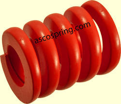 Flat Wire Compression Springs