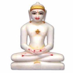 Marble Mahaveer Swami Statue