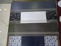 Black & Blue Staircase Step Tile