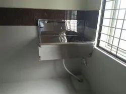 Foot Operated Scrub Sink for Hospital